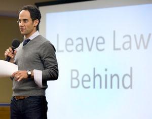 Casey Berman of Leave Law Behind