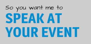 So you want me to speak at your event